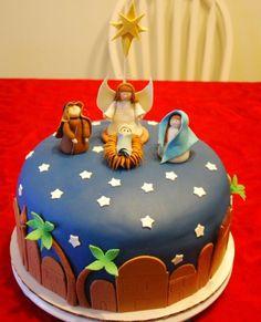 Christmas Cake  on Cake Central