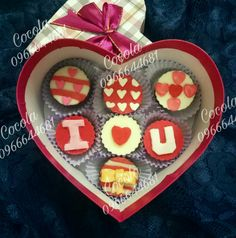 Cute chocolate valentine made by mailinh