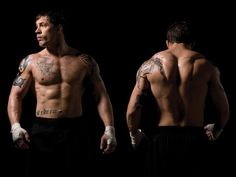 "Tom Hardy workouts: A contrast for ""the warrior"" and ""dark knight rises"""