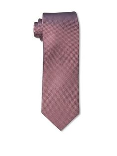 60% OFF Rossovivo Men's Dot Tie, Red/White