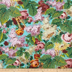 Kaffe Fassett Spring 2014 Collective Marble Lilac Turquoise from @fabricdotcom  Designed by Philip Jacobs for Westminster Fabrics, this cotton print is perfect for quilting, apparel and home decor accents. Colors include mauve, shades of green, lilac, white and turquoise.
