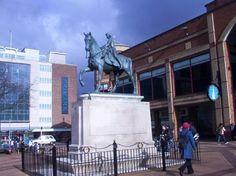 Lady Godiva statue in City Centre, Coventry