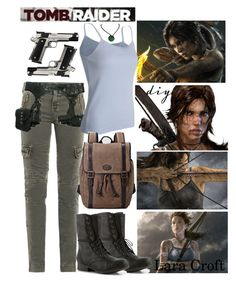 """DIY Halloween Costume: Lara Croft 