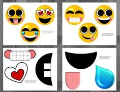 Printable Emoji Birthday Party Decorations to create an emoticon celebration. Our Emoji party supplies are unique from the rest.