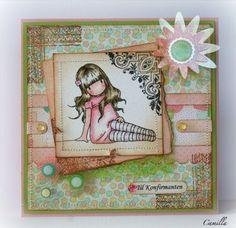 Cards by Camilla: Gorjuss Girls