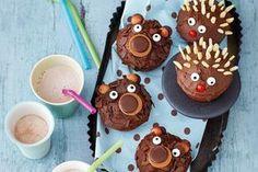 Ein Kindergeburtstag ohne Muffins? Gibt es nicht! Wie wär's dieses Jahr mal mit Muffin-Igeln oder Muffin-Bären? Wir finden: Zum Anbeißen süß!