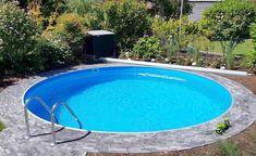 conZero Kunden Erfahrungsberichte | Poolakademie: Der Pool Shop für den Eigenbau des heimischen Pools Piscina Oval, Garden Mirrors, Stabil, Kitchen Design, Backyard, Outdoor Decor, Home And Garden, Diy Swimming Pool, Pool Ideas