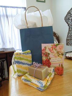Super Simple Crochet Washcloth / Dishcloth Pattern