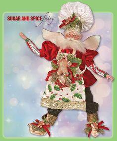 Sugar & Spice Fairy by Mark Roberts. www.Christmas-Magic.com