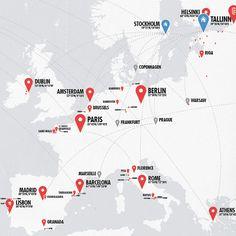 travel map design - Google Search