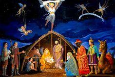 ΓΙΑΝΝΗΣ  ΚΡΕΠΕΤΟΣ: Η ΓΕΝΝΗΣΗ ΤΟΥ ΘΕΙΟΥ ΒΡΕΦΟΥΣ