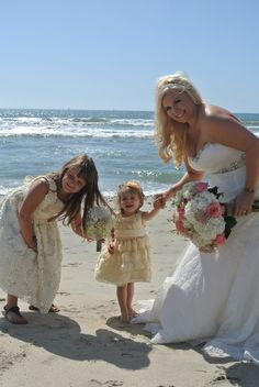 Stunning Beach Bride, A La Plage Beach Weddings, Oceanside Ca