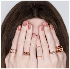 Rose Gold Rings Jewelry Design, Designer Jewellery, Wild Hearts, Jewelry Collection, Gold Rings, Silver Jewelry, Handmade Jewelry, Feminine, Rose Gold