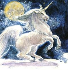The Unicorn in Winter by S.W.D. (1976)