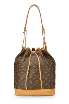 Louis Vuitton Monogram Canvas Noé Handbag In Brown Pre Owned Louis Vuitton, Louis Vuitton Handbags, Louis Vuitton Speedy Bag, Purses And Handbags, Louis Vuitton Monogram, Louis Vuitton Damier, Shoulder Purse, Monogram Canvas, Authentic Louis Vuitton