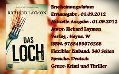 """Leserattes Bücherwelt: [Rezension] """"Das Loch"""" Richard Laymon"""