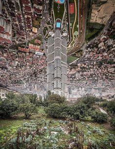 Es erinnert an Szenen aus dem Film #Inception - in Wahrheit ist es ein beeindruckendes Projekt des türkischen Künstlers Aydın Büyüktaş, der #Fotos von #Straßenszenen aus der türkischen Metropole #Istanbul zu #surrealen #Bildmontagen zusammenfügt. http://www.huffingtonpost.de/2016/01/26/es-sieht-aus-wie-ein-normales-luftbild---wer-genauer-hinsieht-entdeckt-etwas-grandioses_n_9081182.html?ncid=fcbklnkdehpmg00000002