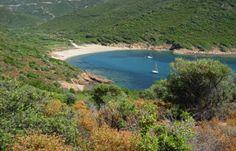 Le sentier du facteur de Girolata randonnée pédestre trace gps Corse du Sud