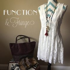 ❣BUY1GET1 FREE SALE❣Free People lace detail dress Free People sleeveless lace dress. Body is lined. Beautiful floral detail in the lace. Sleeveless. 123k569   Retail: $168 Size: 12 (LARGE)   ❤I have over 300 new with tag Free People items for sale! I love to offer bundle discounts! ❤No trades. Please use the offer button to submit offers! Free People Dresses Mini