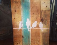 Welcome pallet sign by WhisperwingDesigns on Etsy