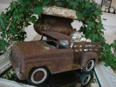 Rusted toy truck!