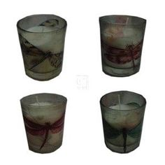 DRAGONFLY CANDLE CUP