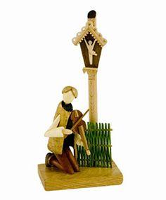 Folk Art Figurine #9 - Roadside Shrine Musician