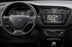 Review Hyundai i20 Coupe 2015 Release Interior View Model