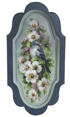 Jansen Art Online Store - P5023D- Flycatcher and Blossoms- Download, $7.95 (http://www.jansenartstore.com/p5023d-flycatcher-and-blossoms-download/)