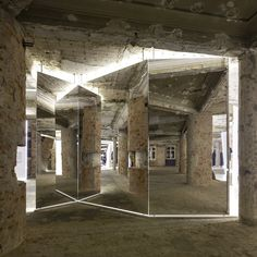Felipe Oliveira Baptista at MUDE / Bureau Betak  Exhibition-Mirrors-Architecture-exhibit