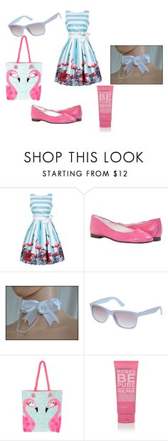 """Розовый фламинго"" by nastya-anas-mikheeva on Polyvore featuring мода и Accessorize"