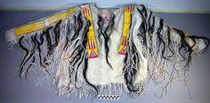 Lakota War Shirt, 19th century.