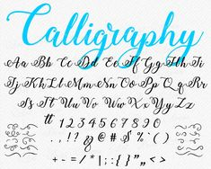 Chalkboard Lettering Alphabet, Faux Calligraphy Alphabet, Hand Lettering Fonts, Lettering Tutorial, Modern Calligraphy, Typography, Cursive Letters Fancy, Cursive Fonts Alphabet, Cool Cursive Fonts