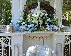 Penny's Vintage Home: Mid Summer Dining on the Porch