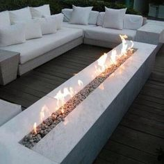 """DIY Complete Propane Fire Pit Table Top 48"""" T-Burner Kit; From Tank To Burner contemporary-fire-pit-accessories"""