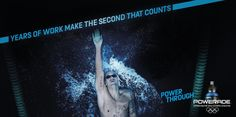Powerade Power Through for Olympics - The Inspiration Room