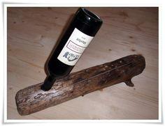 Weinregale - Weinhalter aus Tiroler Treibholz - ein Designerstück von HOAMELIGundSCHEAN bei DaWanda Country Stil, Wine Rack, Etsy Shop, Home Decor, Home Goods, Wood Art, Driftwood, Old Wood, Rustic