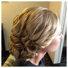 bridal textured wedding low bun hairstyle updo