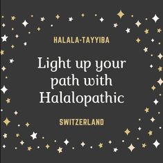 Light up your path with Halalopathic.