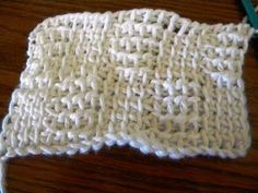 Lots of Crochet Stitches by M. J. Joachim: Tunisian Basketweave Pattern 102212