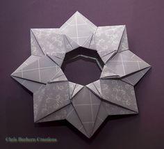 Stern aus Fuse Buch von Jose Meeusen foldet by me Paper: CBC - Chris Barharn Creations http://www.mincil.de/shopserver/shops/s007149/