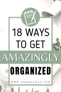18 ways to get amazingly organized! Lists to make for organization! The best list of lists to write if you want to get organized. Tired of feeling unorganized? Then sit down and write these super helpful lists. The lists to make when you need to get your life organized! #lists #organizing #organizationideas #organizationtips Life Organization, Organization Ideas, Household Organization, Organizing Life, Organising, Writing Lists, Work Goals, Get Your Life, Lists To Make