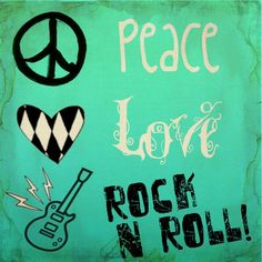 Peace Love And Rock-N-Roll ✌❤