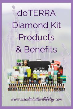 "doTERRA diamond kit enrollment doTERRA Diamond Kit Products & Benefits Every girl needs a doTERRA Diamond kit! Most importantly, I know you will enjoy the convenience of being ""all in"" with your natural health care. No worrying about not having one of the products you might need. With the Diamond kit, you get every possible product right away. I love the value of the doTERRA Diamond Kit. (You are going to end up buying it all anyway!) Start your essential oil journey prepared for every…"