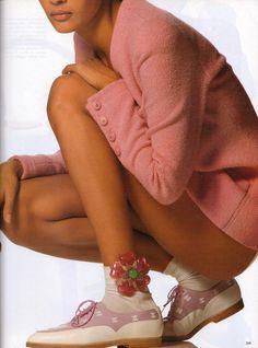 ☆ Nadege Du Bospertus | Photography by Albert Watson | For Vogue Magazine Italy | February 1992 ☆ #Nadege_Du_Bospertus #Albert_Watson #Vogue #1992