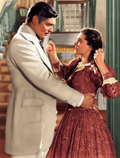 Clark and Vivien, Gone With The Wind (1939).