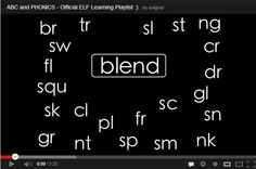 Wonderful video to teach and review consonant blends. Blends reviewed in this video are bl, cl, cr, pl, pr, gl, gr, fl, fr, dr, tr, tw, sc, sk, sp, st, squ, sl, sm, sn, sw, nt, nd.