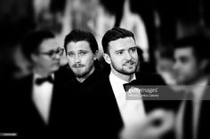 Actors Garrett Hedlund and Justin Timberlake attend 'Inside Llewyn Davis' Premiere during the 66th Annual Cannes Film Festival at Palais des Festivals on May 19, 2013 in Cannes, France.
