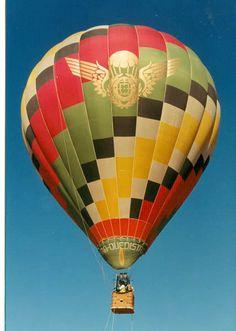 Vôo de balão sobre Piracicaba