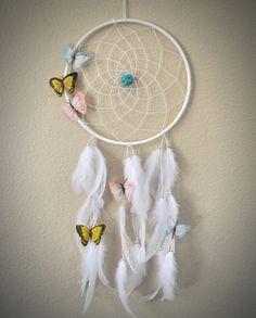 Dreamcatcher for Baby Nursery Newborn with by ReinaJewelers, $44.00